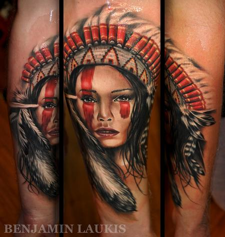 tattoos/ - Apache girl - 72923