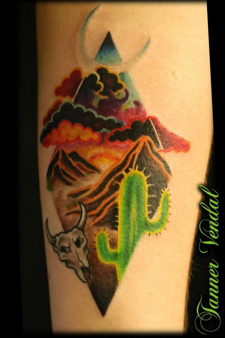 tattoos/ - Texas Desert by Tanner - 132754