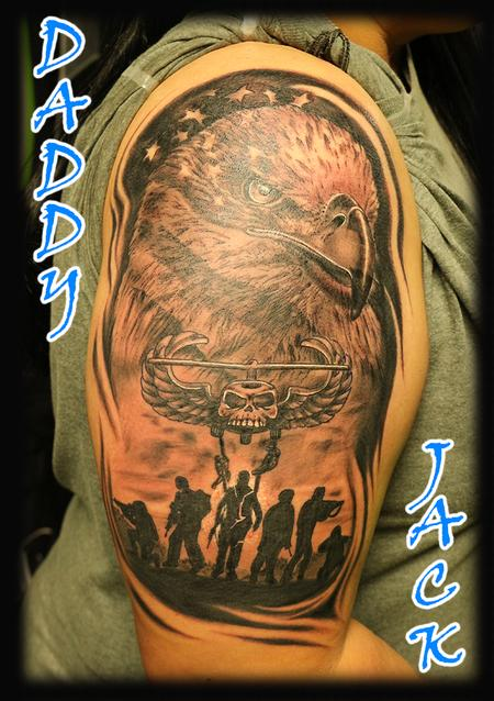 tattoos/ - Eagle_AmericanFlag_soldiers_AirAssault_ByJack - 132964