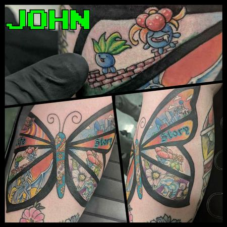 tattoos/ - Story Butterfly with Pokemon by John - 132961