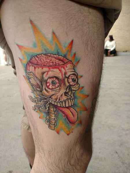 tattoos/ - Brain Explosion  - 127457