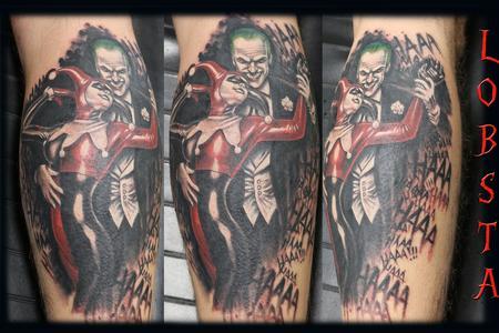 tattoos/ - jokerandharleyquinn_joker_harleyquinn_tattoobyLobsta_Lobsta - 129626
