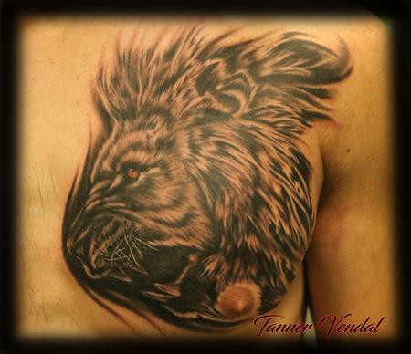 tattoos/ - Lion_Chest_Piece_Tanner - 128978