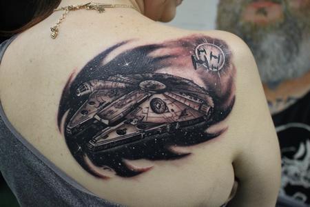 tattoos/ - Millennium Falcon - 127452