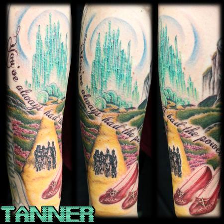 tattoos/ - Follow The Yellow Brick Road - 131621
