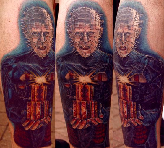 Looking for unique Dan Henk Tattoos?  Pinhead