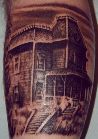 Looking for unique Dan Henk Tattoos?  Bates Motel