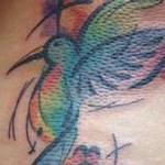 Hummingbird Tattoo Design Thumbnail