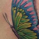 Awareness Butterfly Tattoo Design Thumbnail