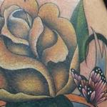 Rose and Butterfly for Mom Tattoo Design Thumbnail