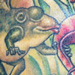 Tattoo-Books - Flying Frog (Detail) - 4413