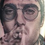 tattoos/ - Liam Gallagher Portrait Tattoo - 115351