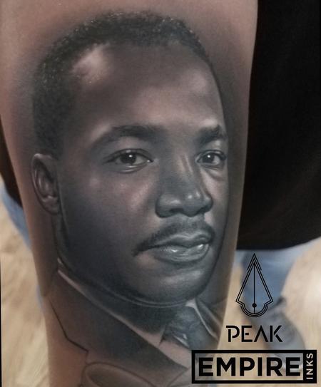 tattoos/ - MLK Portrait Tattoo - 130636