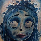 Corpse Bride Tattoo  Original Art Thumbnail