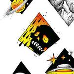 Art Galleries - Diamond Mini Flash Sheet - 114474