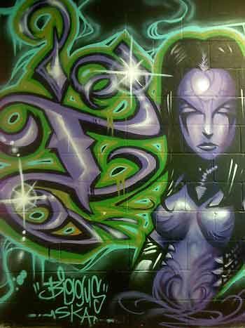 Art Galleries - Grafitti Girl - 29811