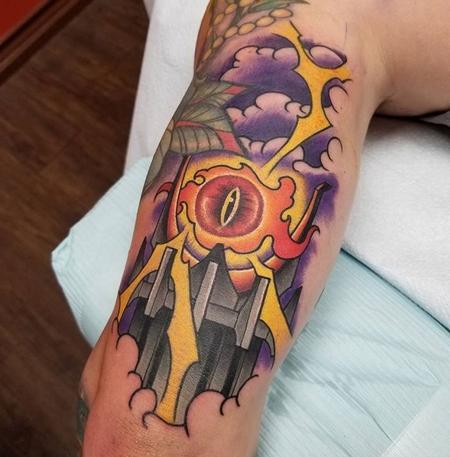tattoos/ - Eye of Sauron - 130760