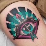 Sagittarius Eye Tattoo Design Thumbnail