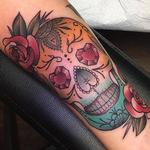 Sugar Skull Tattoo Design Thumbnail