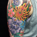Flower Half Sleeve Tattoo Tattoo Design Thumbnail