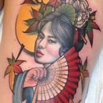 Geisha Tattoo Design Thumbnail