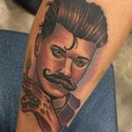 Man Tattoo Design Thumbnail