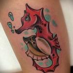 Seahorse Tattoo Tattoo Design Thumbnail