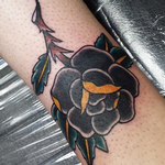 Traditional Rose Tattoo Tattoo Design Thumbnail