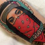 Mob Woman Tattoo Design Thumbnail