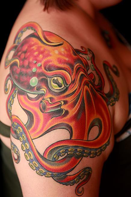 tattoos/ - Octopus Tattoo - 104030