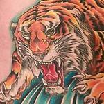 Tattoo-Books - Color Tiger Rib Tattoo - 104029
