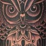 OWL AND SKULL Tattoo Design Thumbnail
