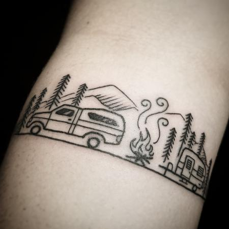tattoos/ - Aly's camping memories - 129718
