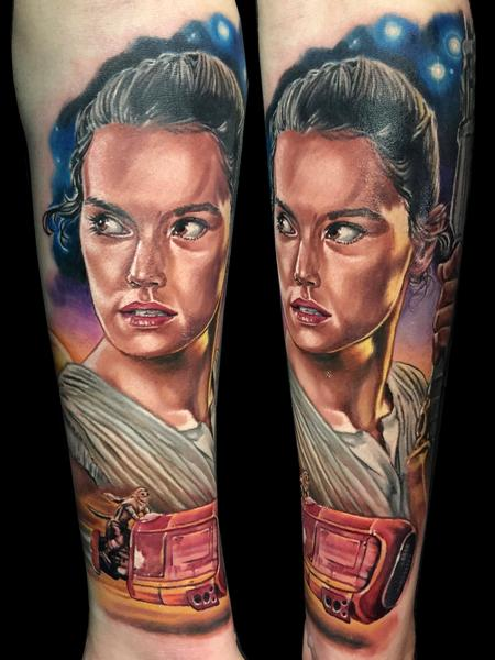 tattoos/ - Rey - Star Wars - 115954