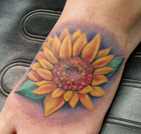 tattoos/ - Sunflower (fixup) - 116171