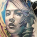Realistic Girl Tattoo Tattoo Design Thumbnail