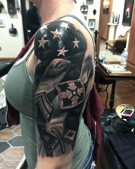 tattoos/ - Flag / Military Patch  - 111612