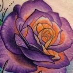 Rose with Name Tattoo Design Thumbnail