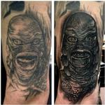 Creature of the Black Lagoon Tattoo Design Thumbnail