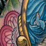 Cameo Coverup  Tattoo Design Thumbnail