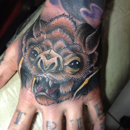 tattoos/ - bat hand - 68833