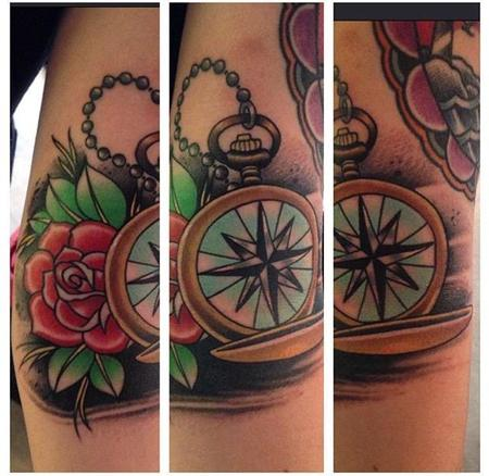 tattoos/ - Traditional Compass - 109291