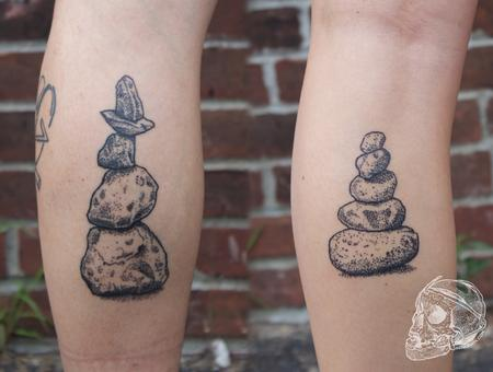 tattoos/ - Healed black stipple cairn tattoo - 129318