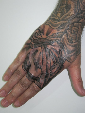 tattoos/ - Anchor hand tattoo - 51916