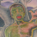 Color zombie tattoo Tattoo Design Thumbnail