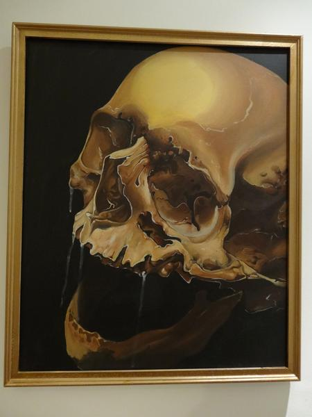 Art Galleries - SKULL PAINTING - 82434