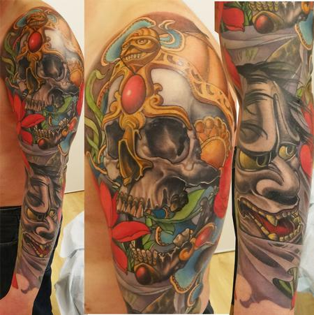 tattoos/ - full color japanese sleeve - 84251