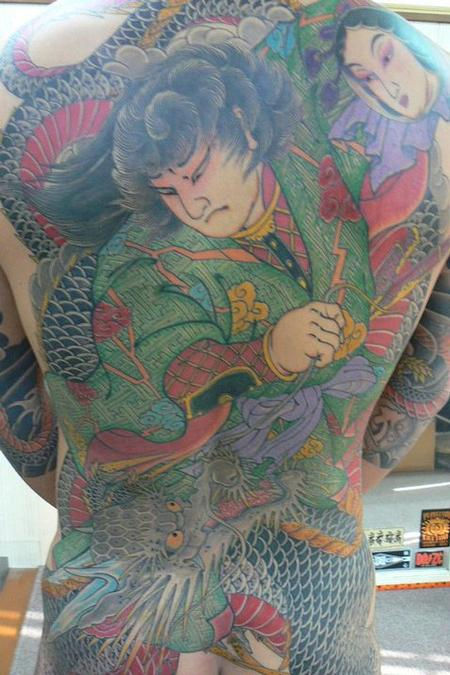 tattoos/ - Japanese Tebori Tattoo Backpiece - 62327