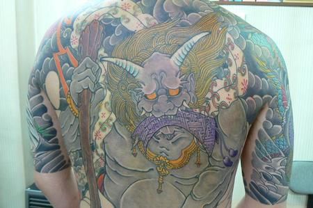 tattoos/ - Japanese Tebori Tattoo Backpiece - 62328