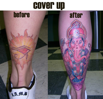 Tattoos - Minnesota - Cover up